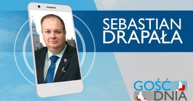 Gość Dnia – Sebastian Drapała