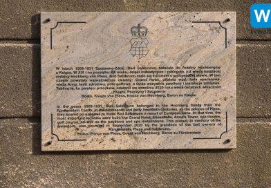 Pamiątkowa tablica i Muzeum Szczawna-Zdroju
